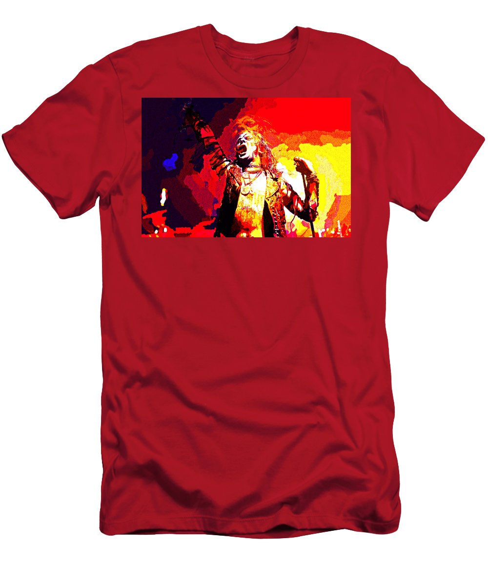 Watain Men's T-Shirt (Athletic Fit) featuring the digital art Watain by Lora Battle