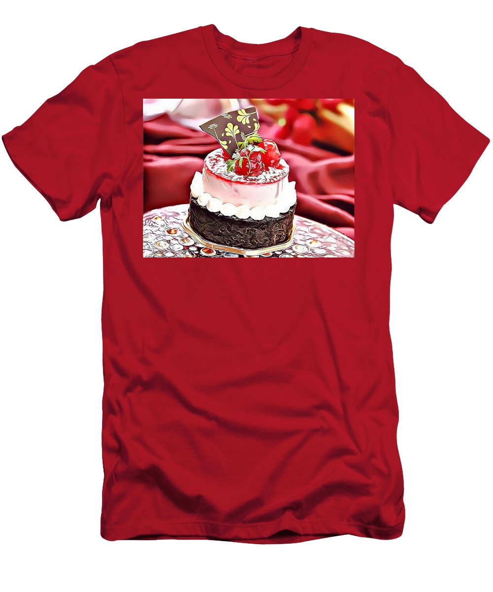 Urban Men's T-Shirt (Athletic Fit) featuring the photograph 10 Eat Me Now by Leo Rodriguez