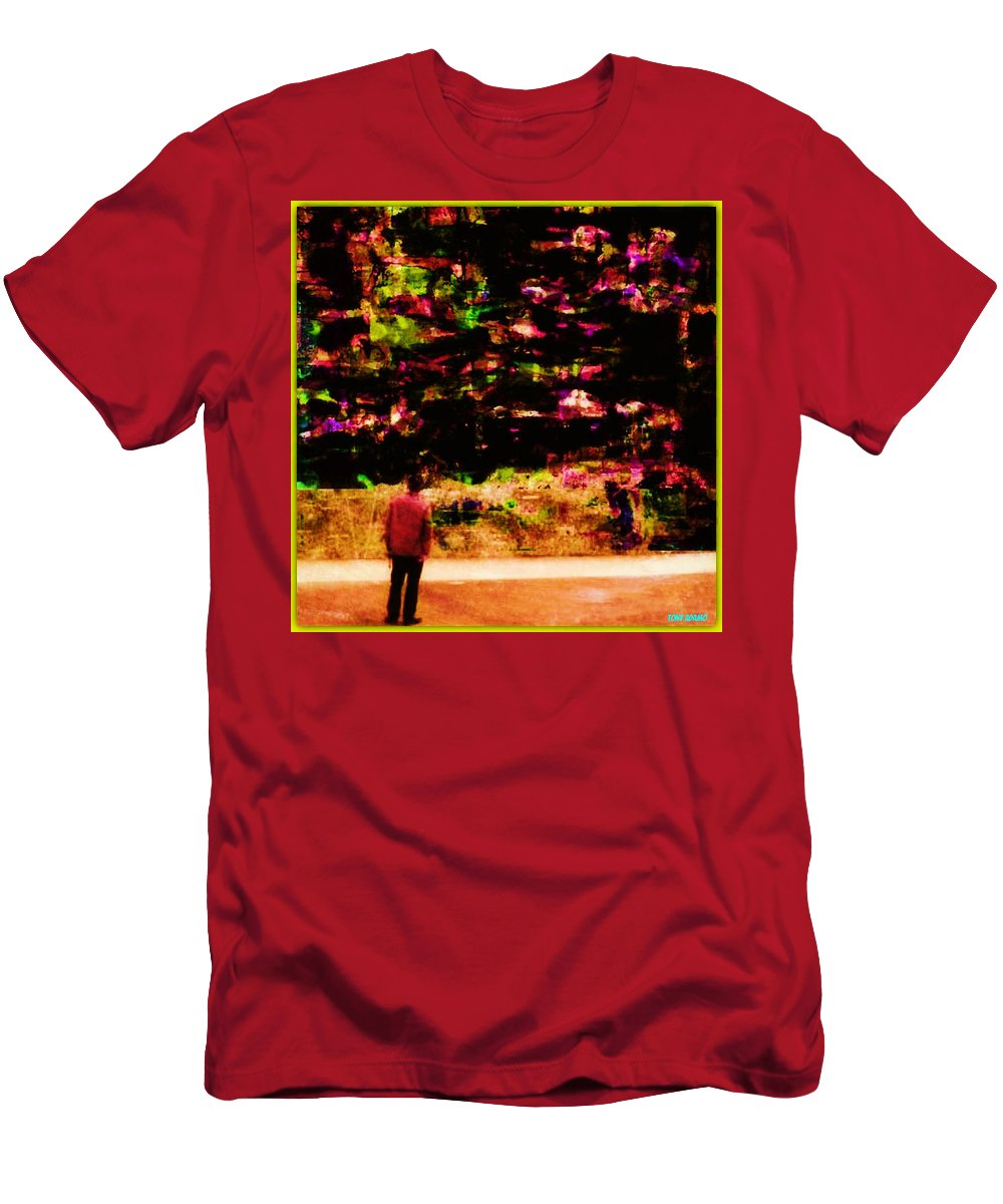567# Men's T-Shirt (Athletic Fit) featuring the digital art 567# by Tony Adamo