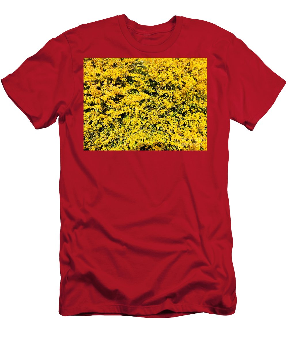 Color And Vibrancy T-Shirt featuring the photograph And It Was All Yellow... by Andres Cavazos
