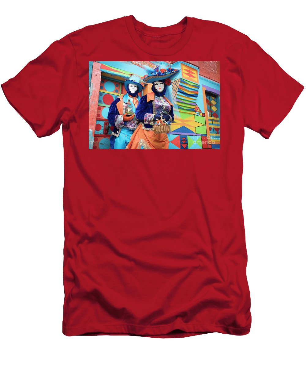 Carnival T-Shirt featuring the photograph Colors Of Carnival by Linda D Lester