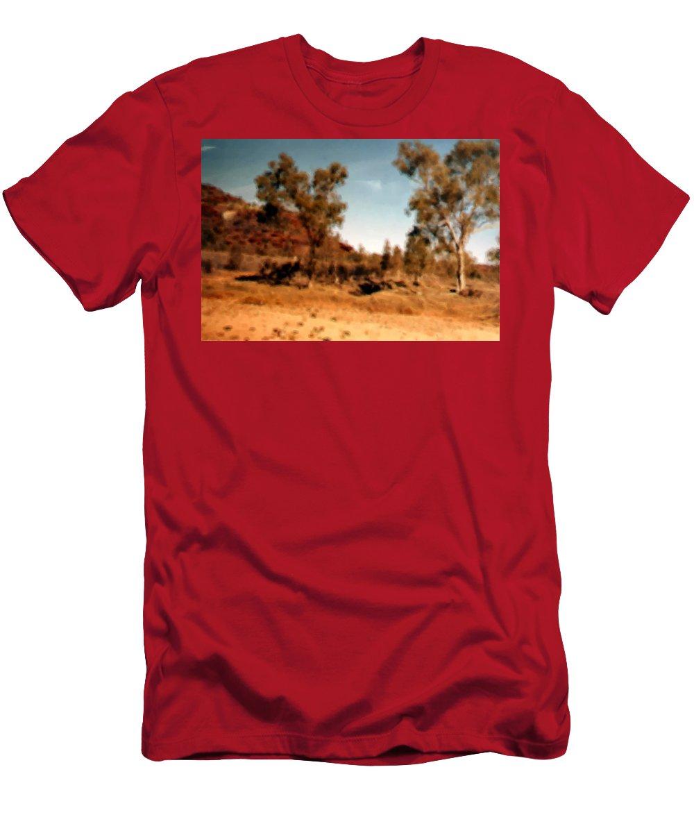 Daintree Australia T-Shirt featuring the mixed media Daintree Australia by Asbjorn Lonvig