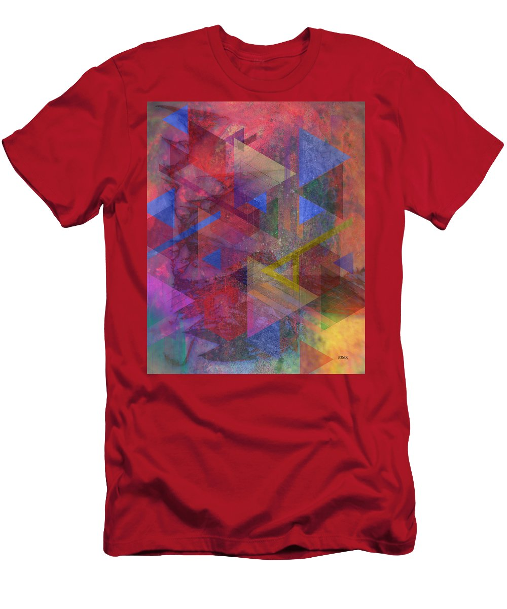 Another Time T-Shirt featuring the digital art Another Time by John Robert Beck