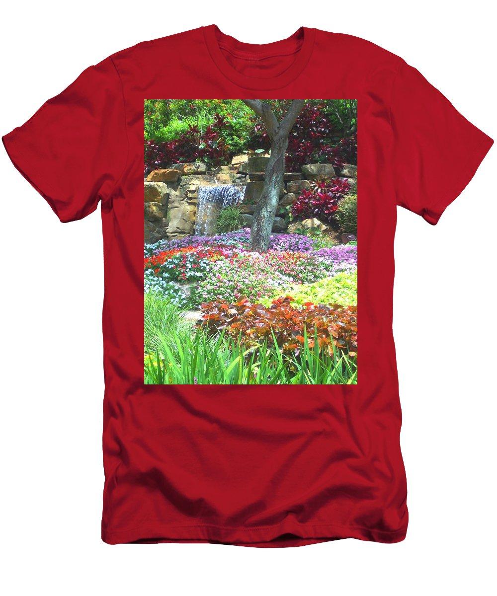 Garden T-Shirt featuring the photograph Floral Garden by Pharris Art