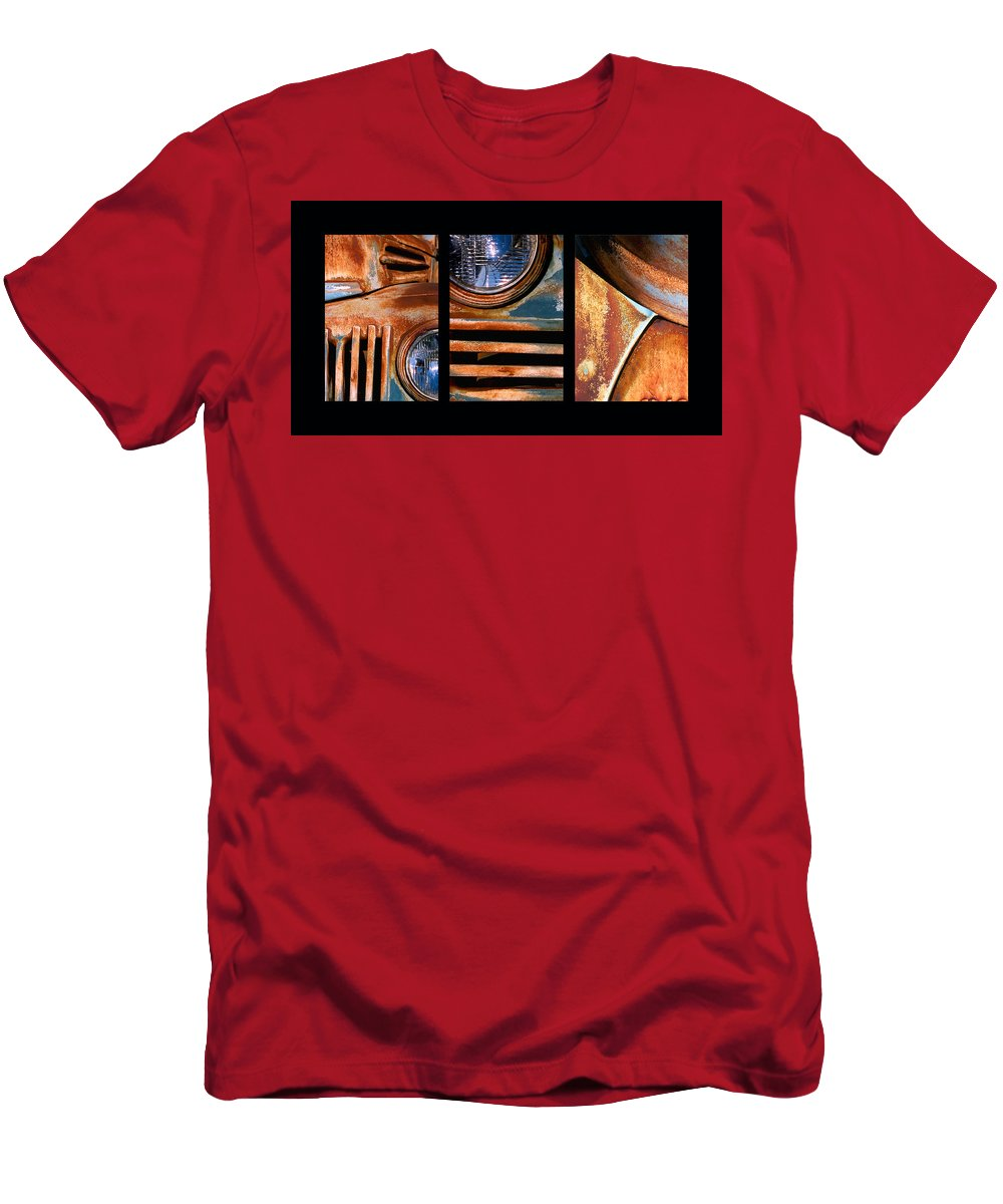 Abstract T-Shirt featuring the photograph Red Head On by Steve Karol