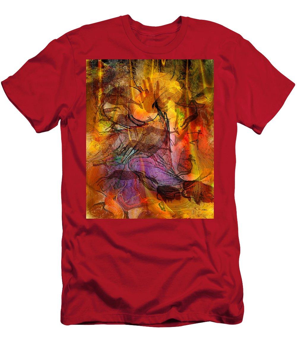 Shadow Hunters T-Shirt featuring the digital art Shadow Hunters by John Robert Beck