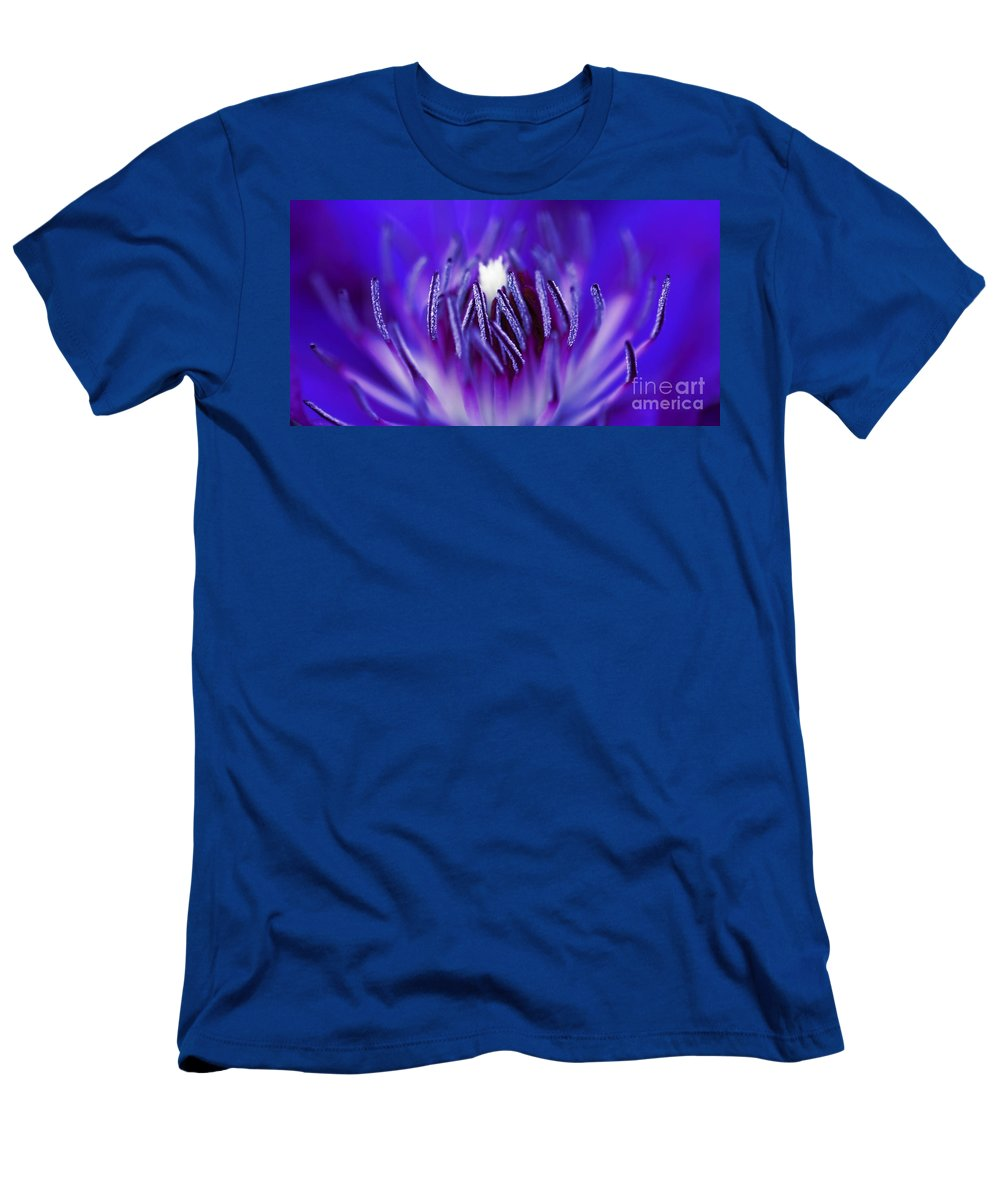 Beautiful Men's T-Shirt (Athletic Fit) featuring the photograph Inside A Flower by Henrik Lehnerer