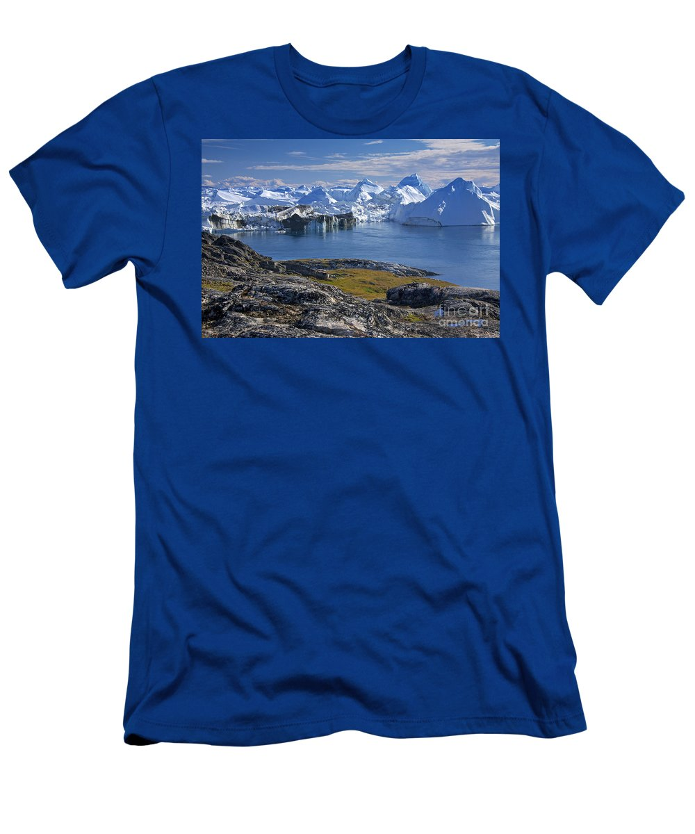 Landscape Men's T-Shirt (Athletic Fit) featuring the photograph 110714p241 by Arterra Picture Library