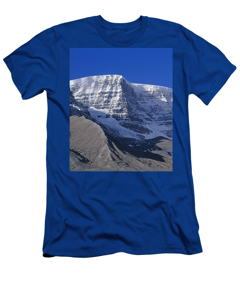 Snow Dome Men's T-Shirt (Athletic Fit) featuring the photograph 1m3732-v-snow Dome by Ed Cooper Photography