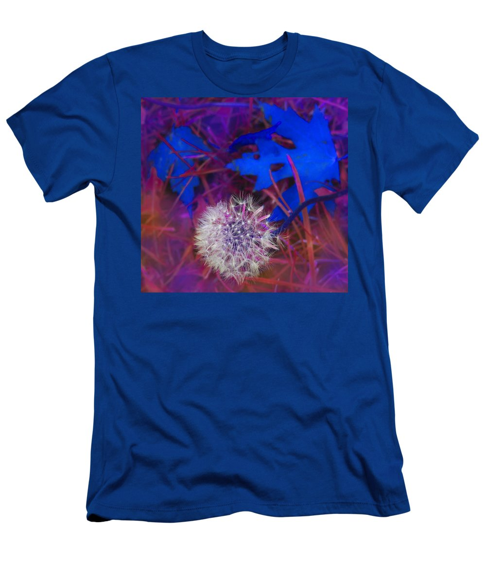 Fall Men's T-Shirt (Athletic Fit) featuring the digital art Blowing In The Wind by Ian MacDonald