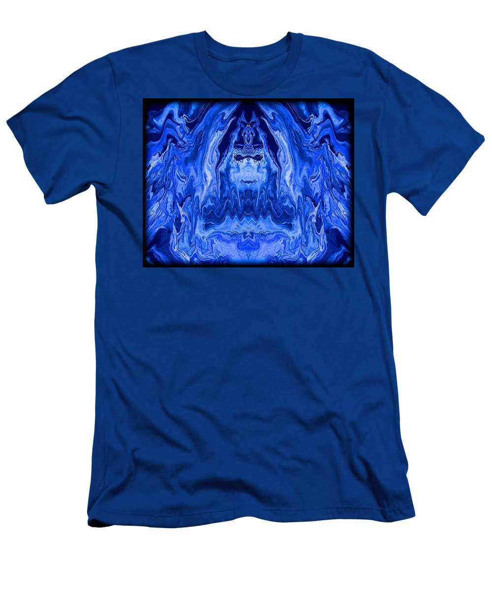 Original Men's T-Shirt (Athletic Fit) featuring the painting Abstract 40 by J D Owen