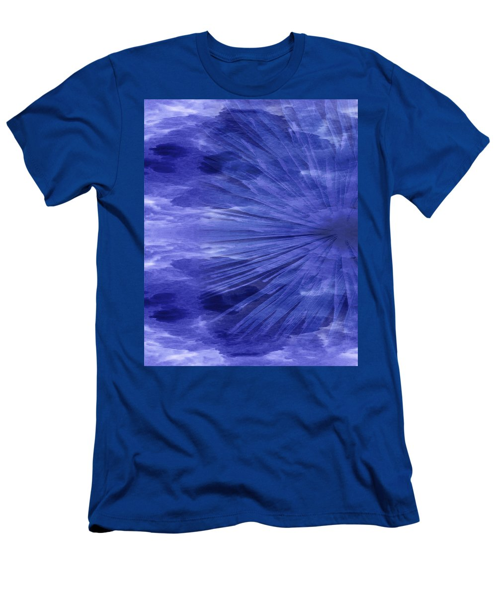 Original Men's T-Shirt (Athletic Fit) featuring the painting Abstract 58 by J D Owen
