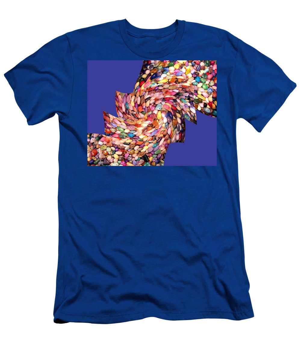 Abstract Fusion Men's T-Shirt (Athletic Fit) featuring the digital art Abstract Fusion 189 by Will Borden