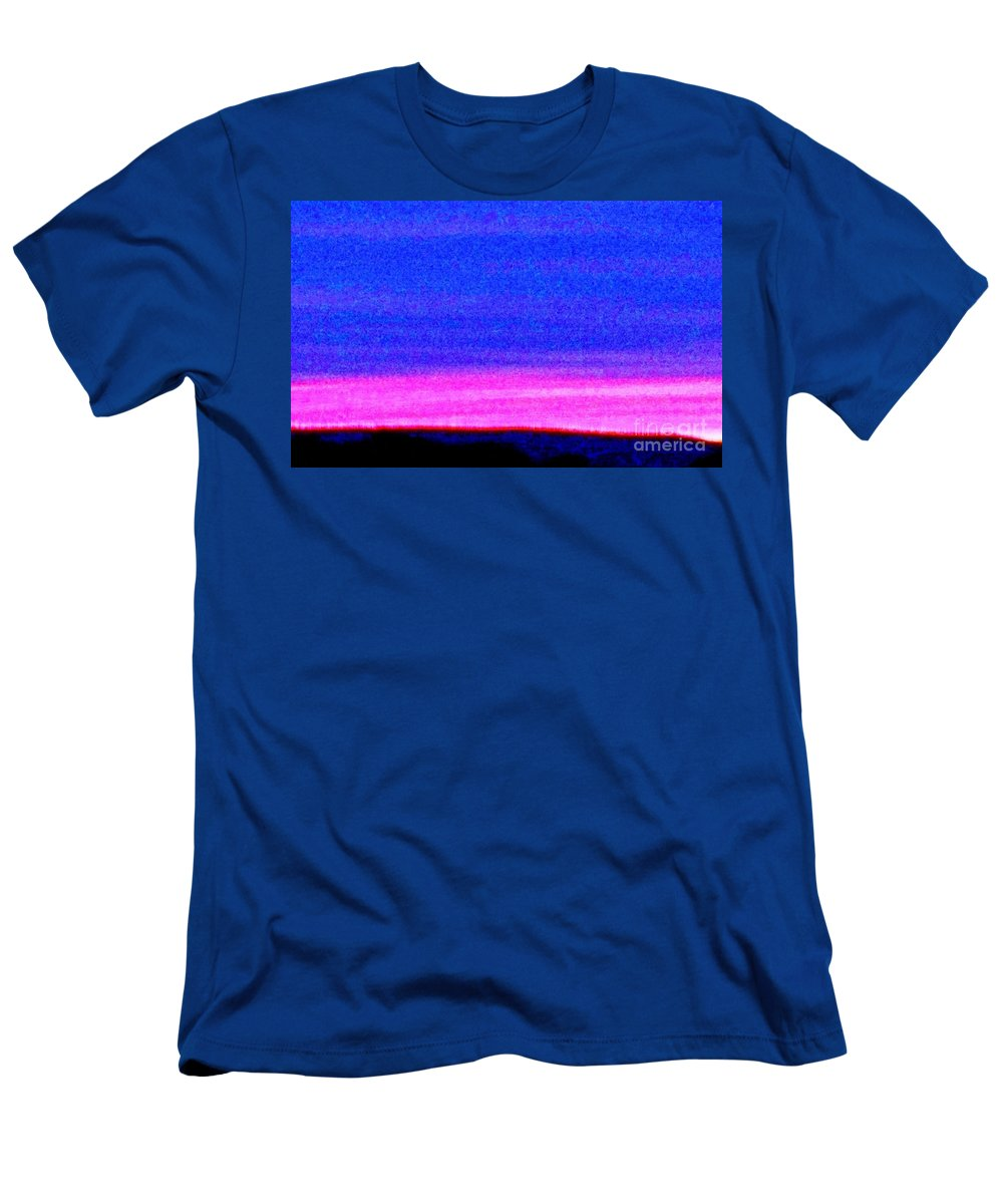 Abstract Men's T-Shirt (Athletic Fit) featuring the photograph Abstract Landscape by Eric Schiabor