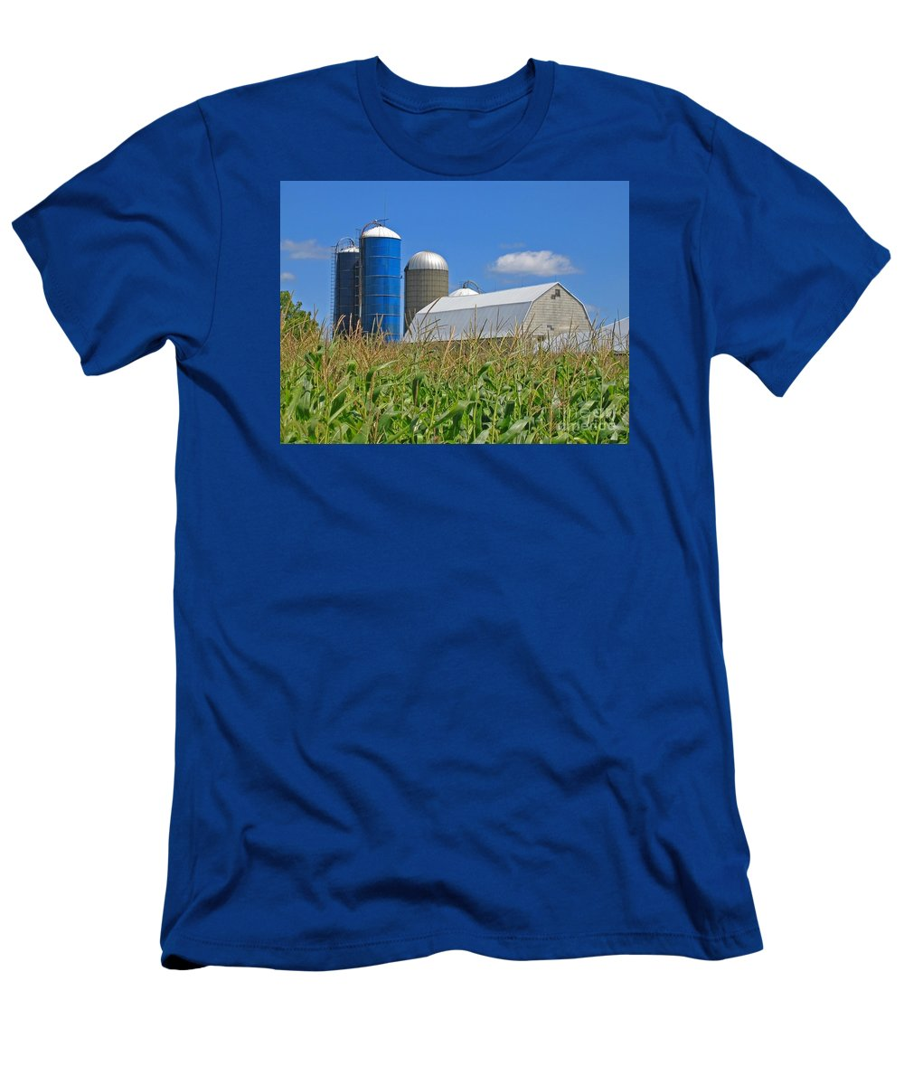 Harvest T-Shirt featuring the photograph Almost Harvest Time by Ann Horn
