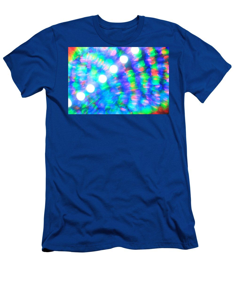 Abstract Men's T-Shirt (Athletic Fit) featuring the photograph Are You Experienced by Dazzle Zazz