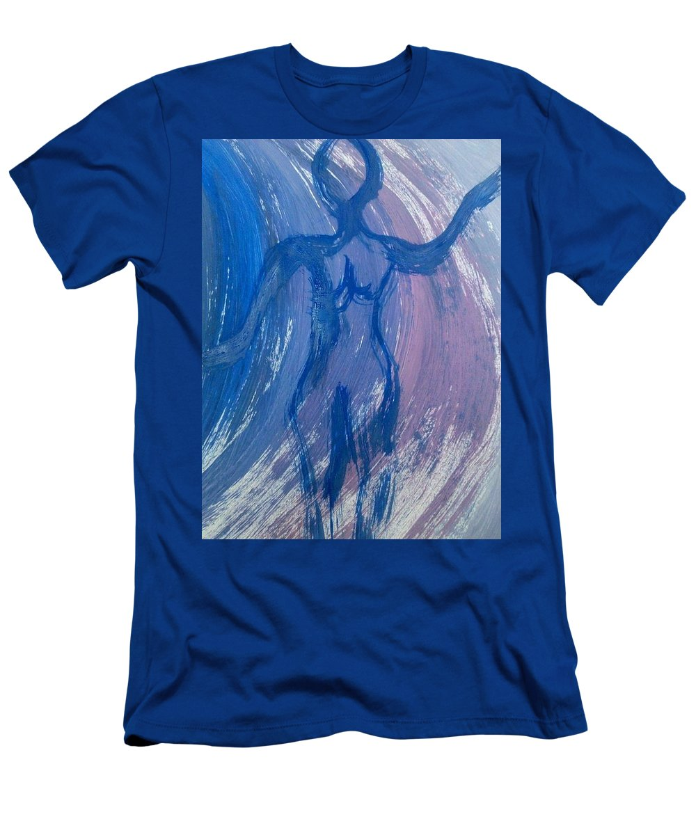 Woman Men's T-Shirt (Athletic Fit) featuring the photograph Art Therapy 17 by Michele Monk