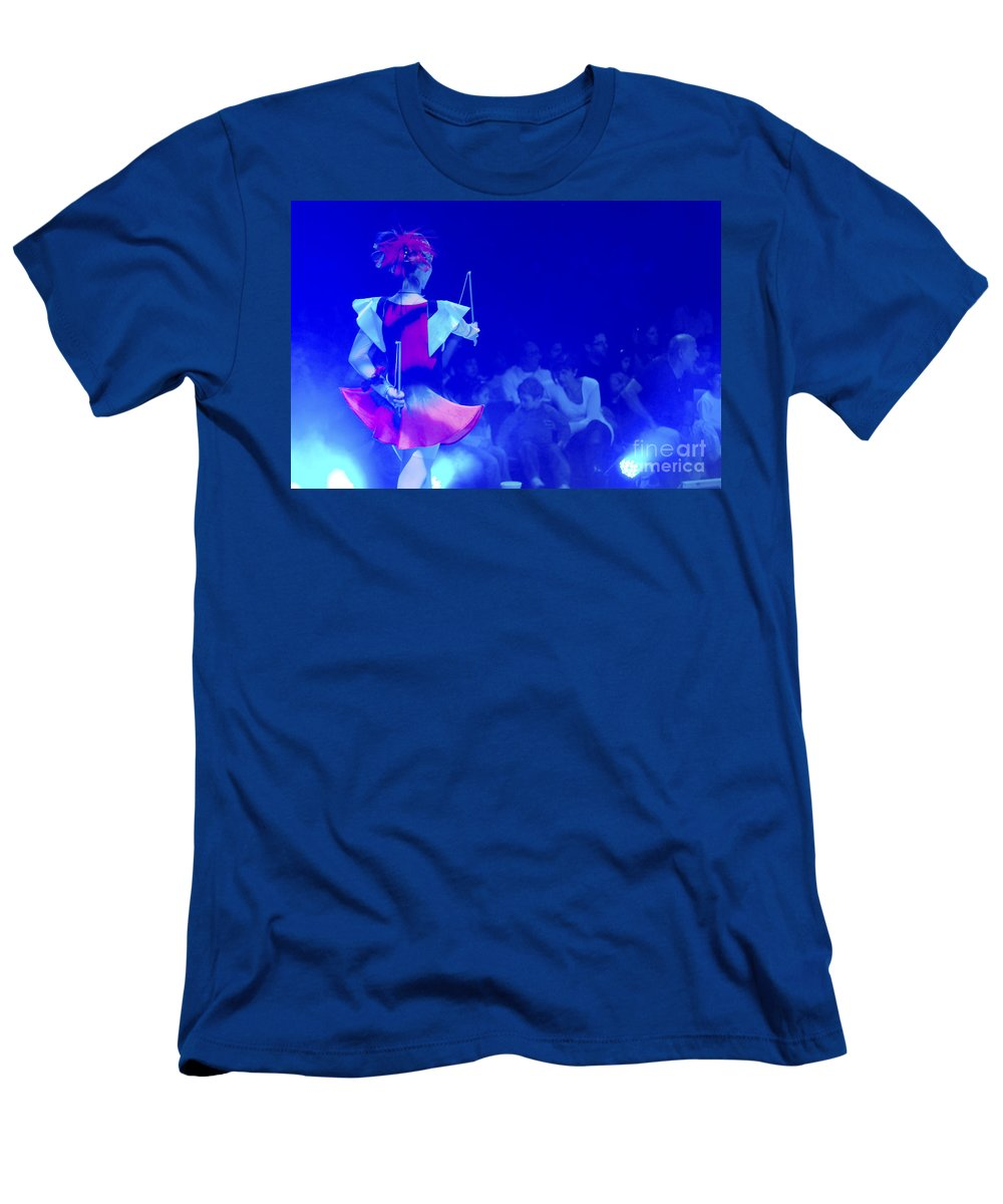 Bellucci Men's T-Shirt (Athletic Fit) featuring the photograph Bellucci Circus by Shay Fogelman