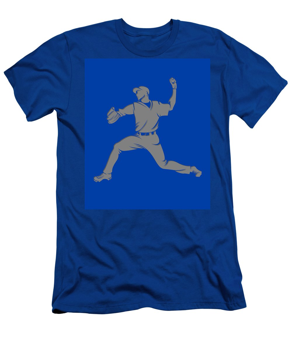 Blue Jays Men's T-Shirt (Athletic Fit) featuring the photograph Blue Jays Shadow Player1 by Joe Hamilton