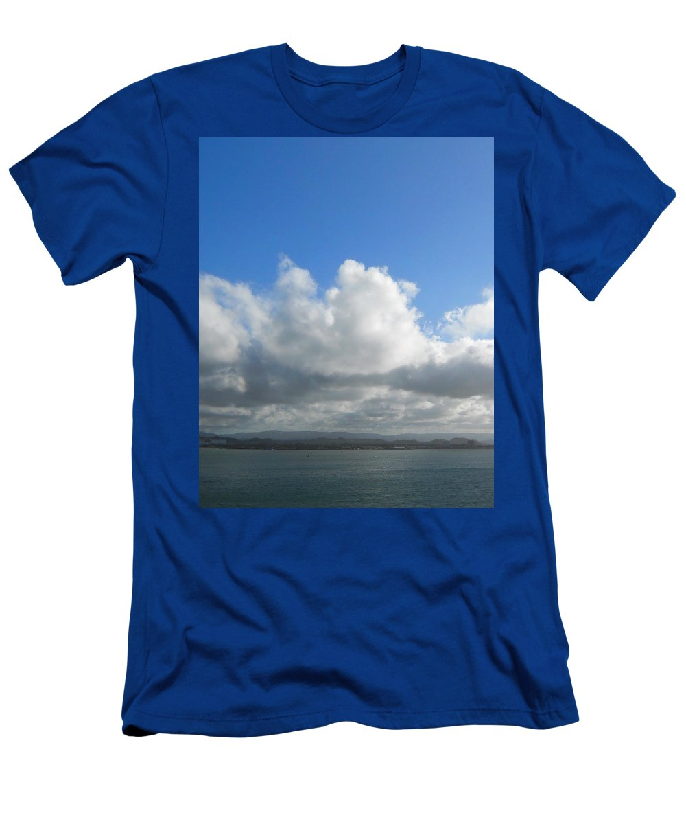 Carribean Men's T-Shirt (Athletic Fit) featuring the photograph Carribean Solace by Judy Hall-Folde