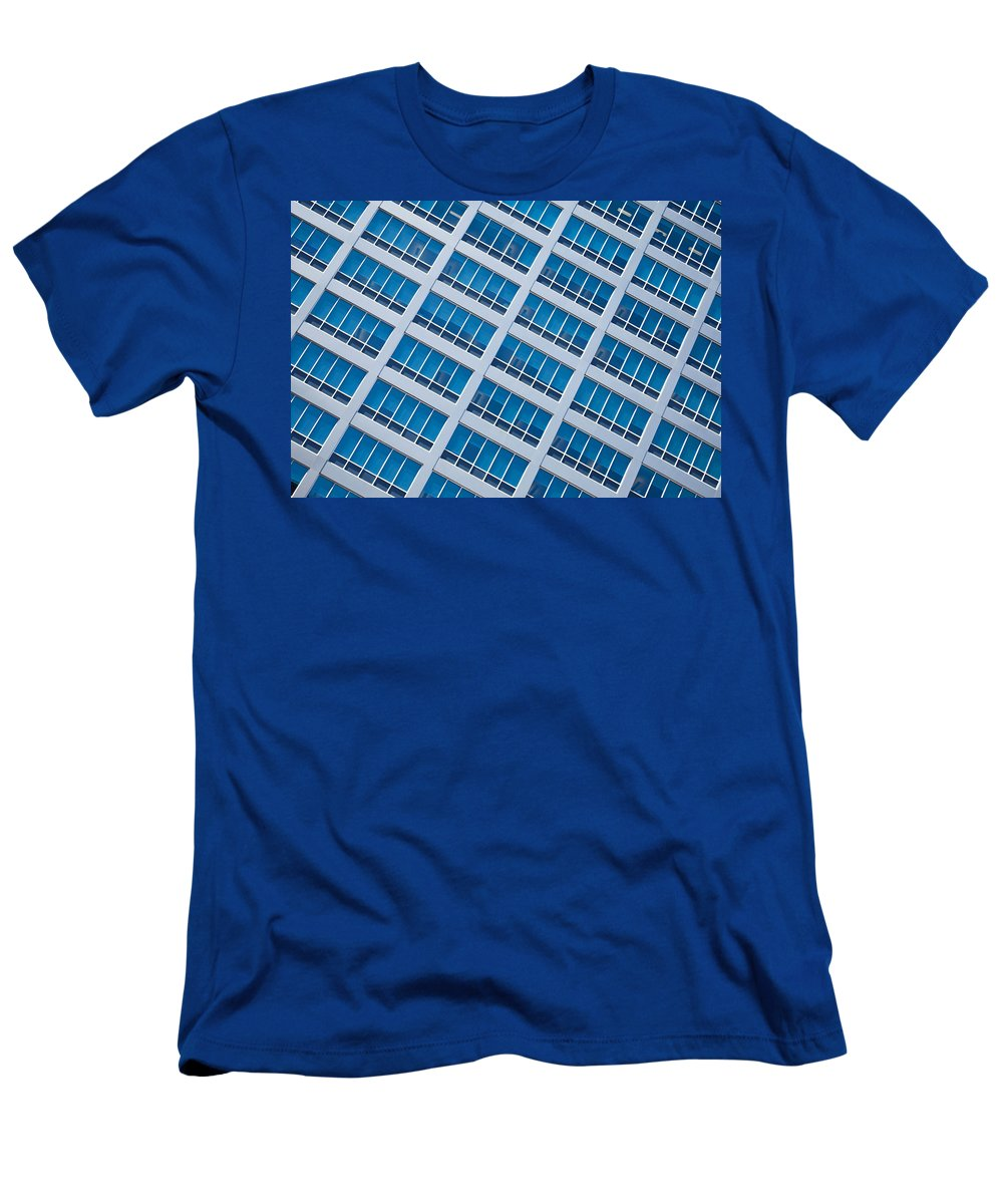 Window Men's T-Shirt (Athletic Fit) featuring the photograph Diagonal View by Keith Armstrong