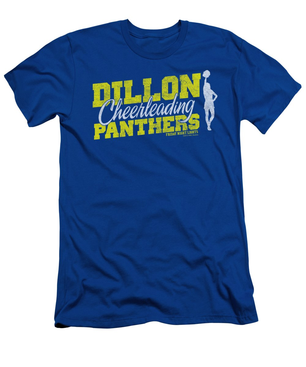 Friday Night Lights T-Shirt featuring the digital art Friday Night Lights - Cheer Squad by Brand A
