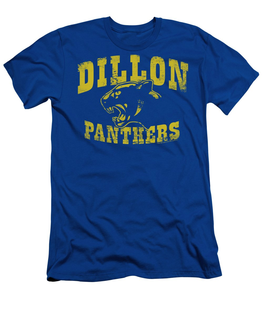 Friday Night Lights T-Shirt featuring the digital art Friday Night Lts - Panthers by Brand A