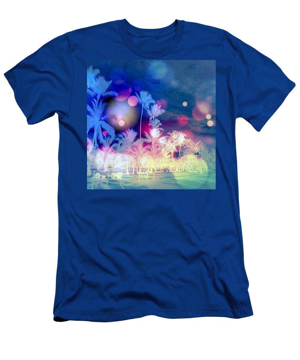 Hawaiiana Men's T-Shirt (Athletic Fit) featuring the digital art Hawaiiana 26 by D Preble