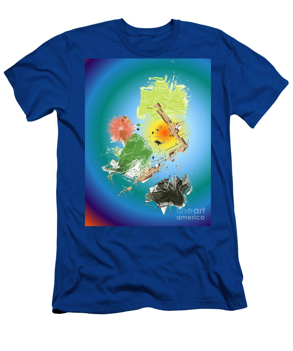 Men's T-Shirt (Athletic Fit) featuring the digital art No. 1134 by John Grieder