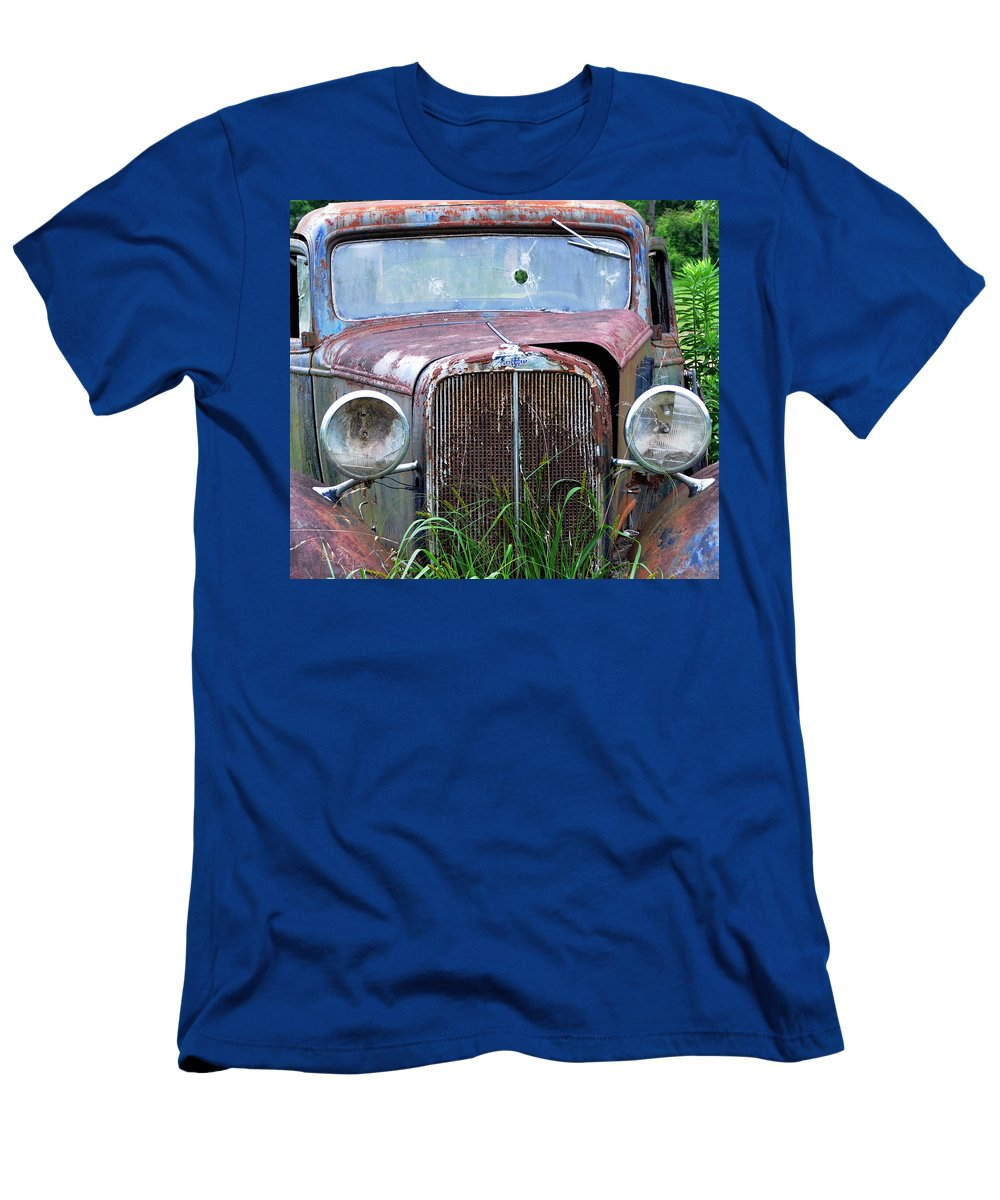 Antique Car T-Shirt featuring the photograph Ole Chevy by Leon Hollins III