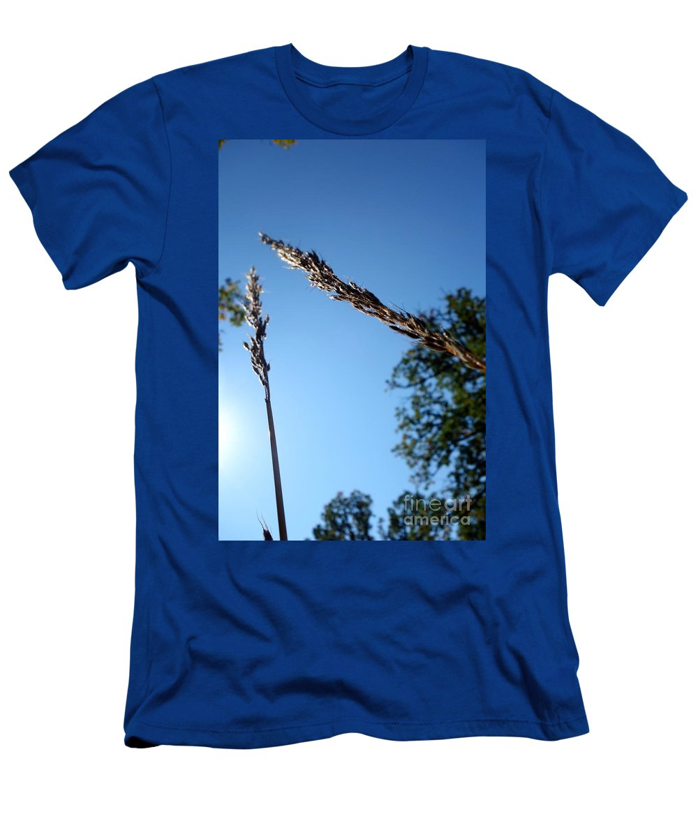 Men's T-Shirt (Athletic Fit) featuring the photograph On The Prairie #10 by Jacqueline Athmann