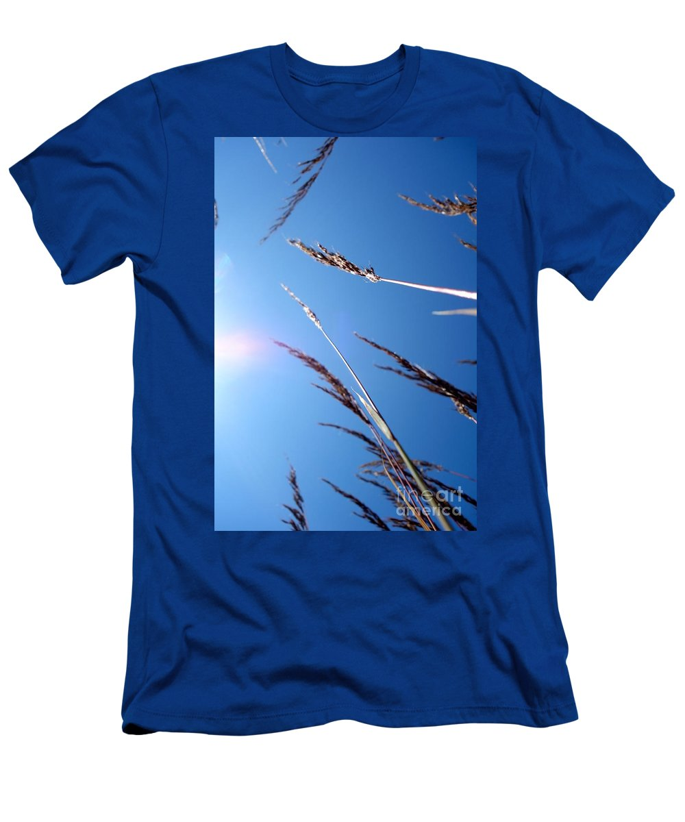 Flowing Men's T-Shirt (Athletic Fit) featuring the photograph On The Prairie #12 by Jacqueline Athmann
