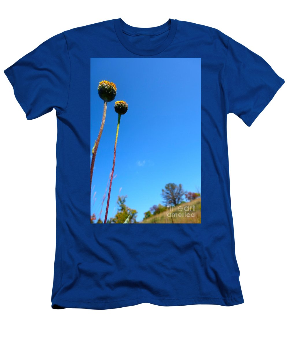Flowing Men's T-Shirt (Athletic Fit) featuring the photograph On The Prairie #9 by Jacqueline Athmann