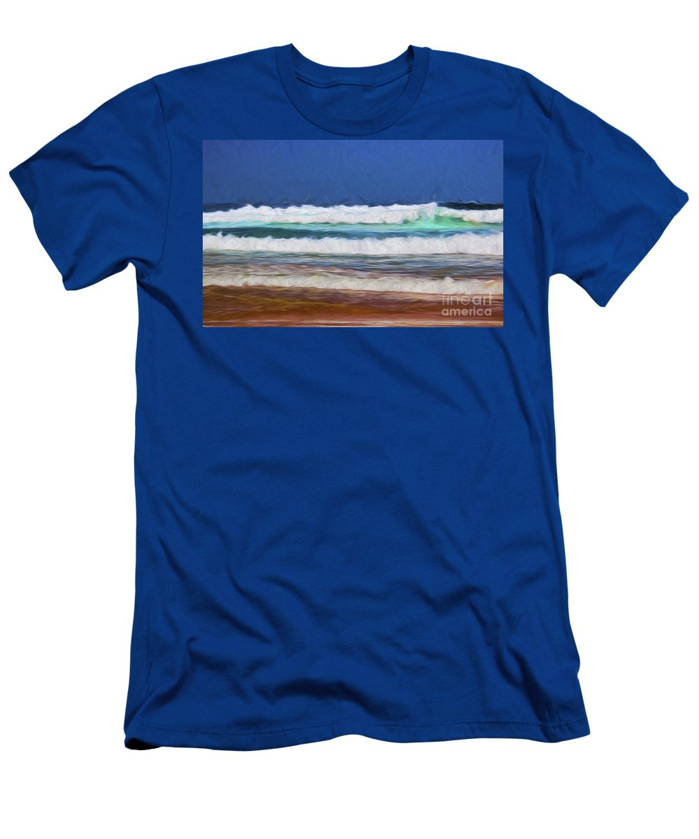 Waves T-Shirt featuring the photograph Pacific surf by Sheila Smart Fine Art Photography