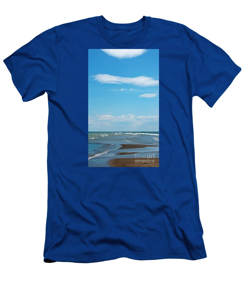 Canada Men's T-Shirt (Athletic Fit) featuring the photograph Pelee by Ann Horn