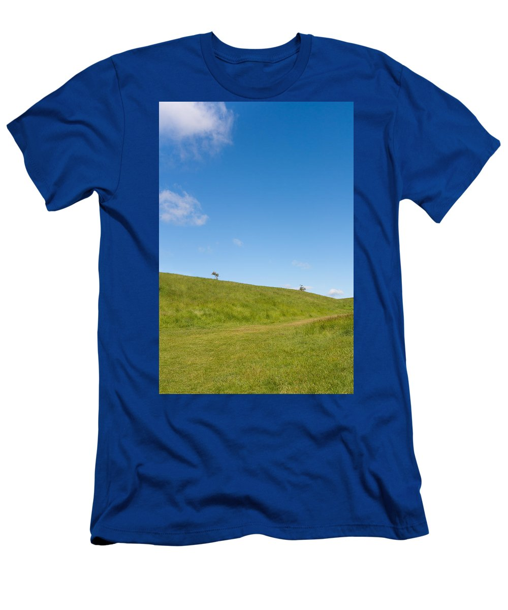 Art Men's T-Shirt (Athletic Fit) featuring the photograph Shapes Of Nature Part Three by Semmick Photo