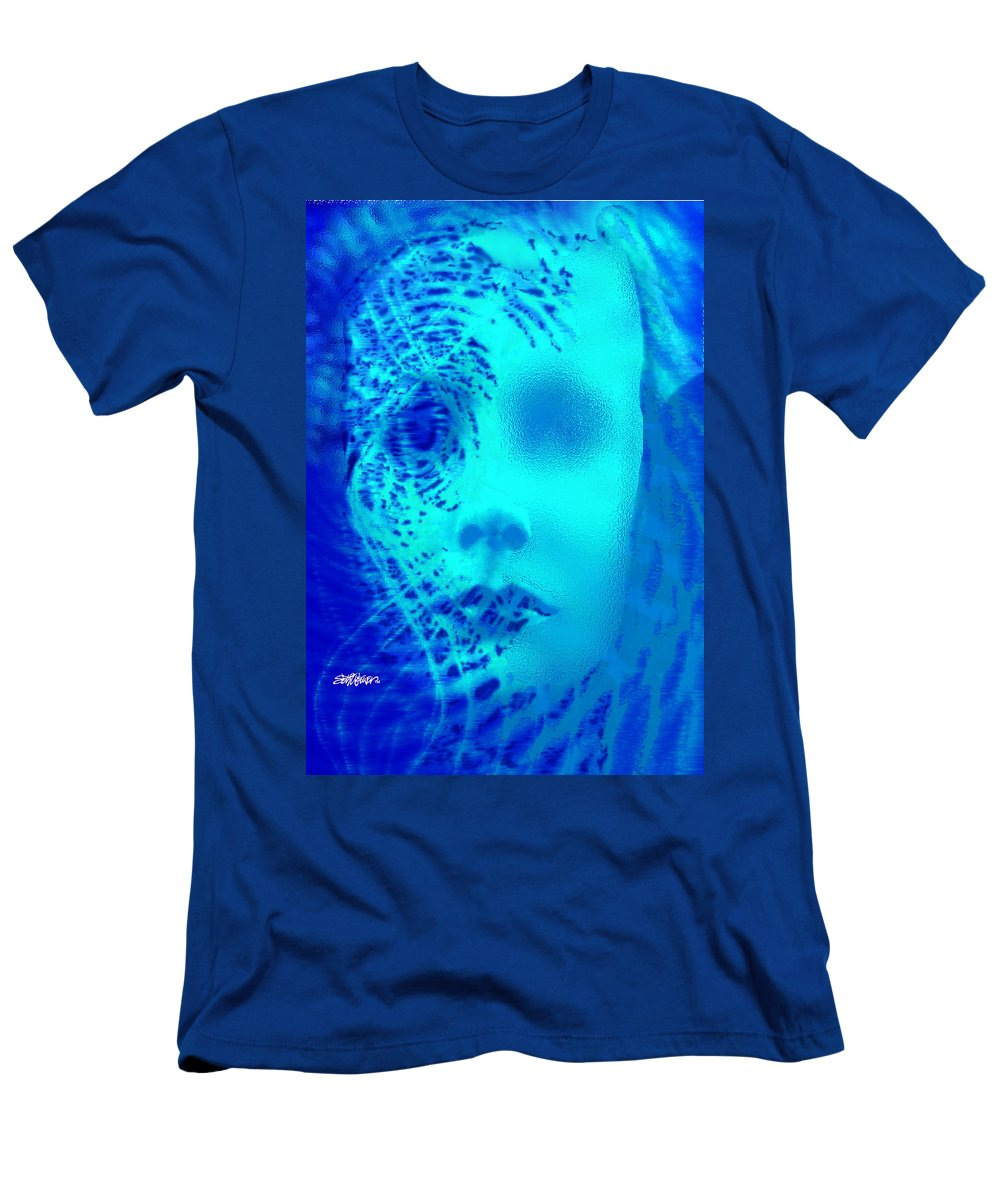 Shattered Doll T-Shirt featuring the digital art Shattered Doll by Seth Weaver