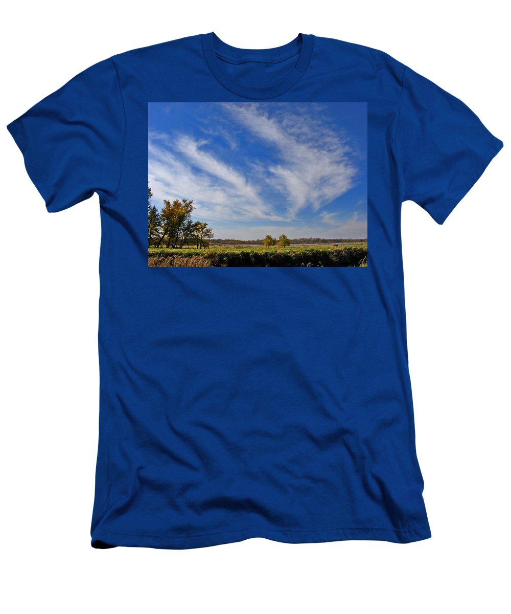 Landscape T-Shirt featuring the photograph Squaw Creek Landscape by Steve Karol
