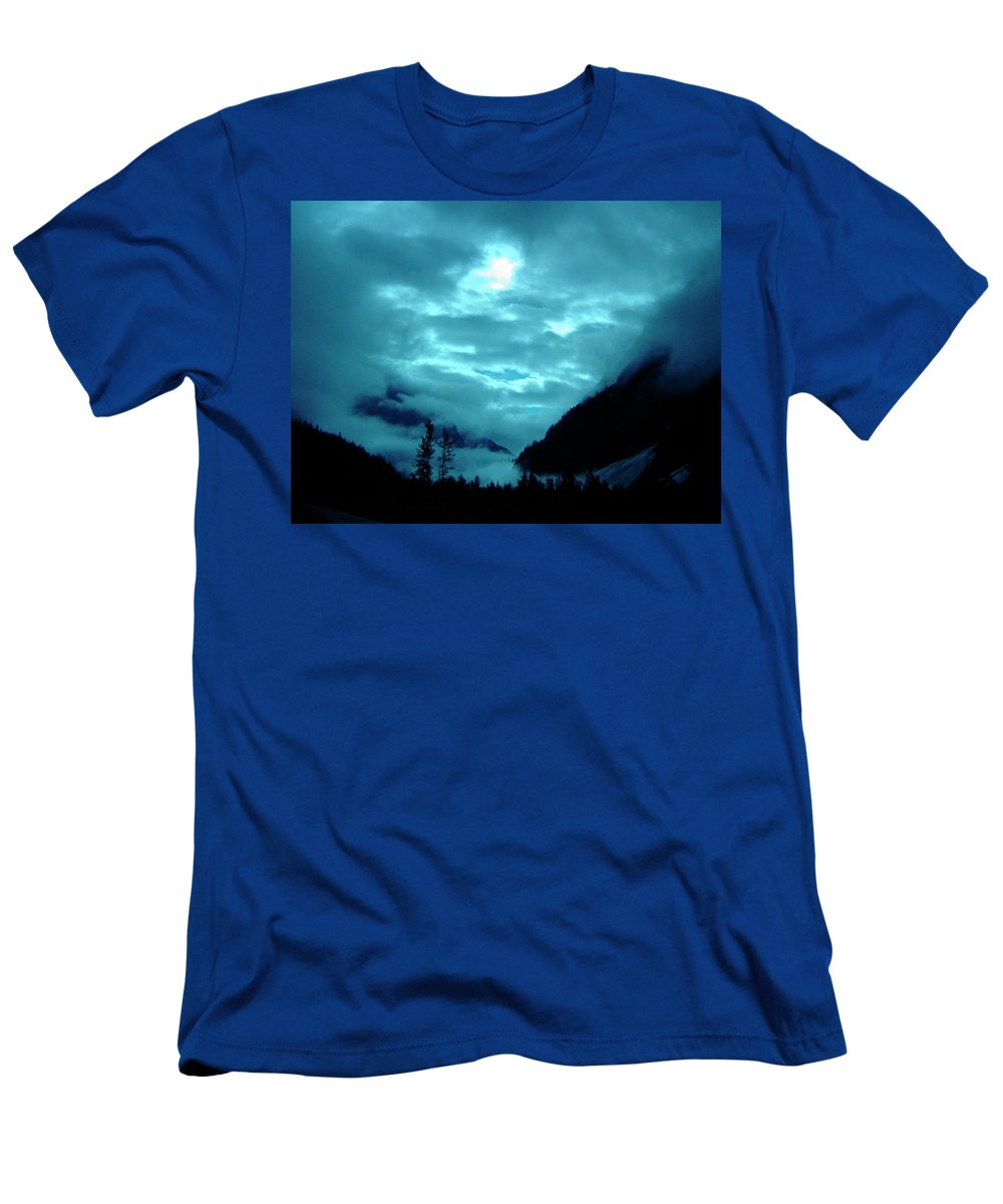 Clouds Men's T-Shirt (Athletic Fit) featuring the photograph Sunday Morning by Jeremy Rhoades