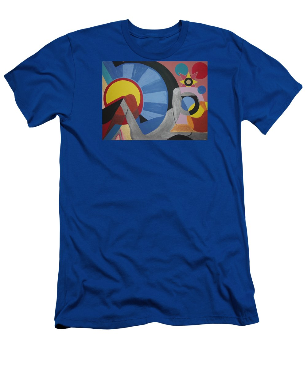 Abstract T-Shirt featuring the painting Sweet Dreams are made of these by Dean Stephens