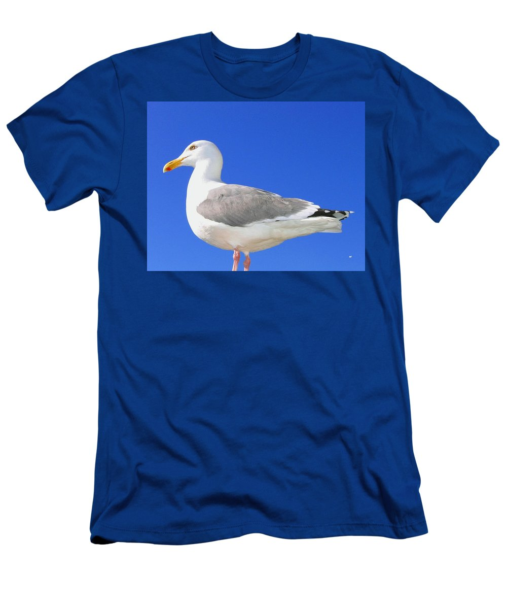 The Admiral Men's T-Shirt (Athletic Fit) featuring the photograph The Admiral by Will Borden