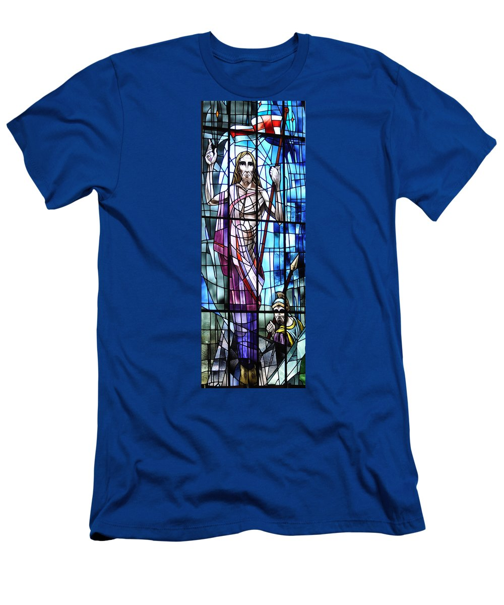 Resurrection Men's T-Shirt (Athletic Fit) featuring the photograph The Resurrection by Savannah Gibbs