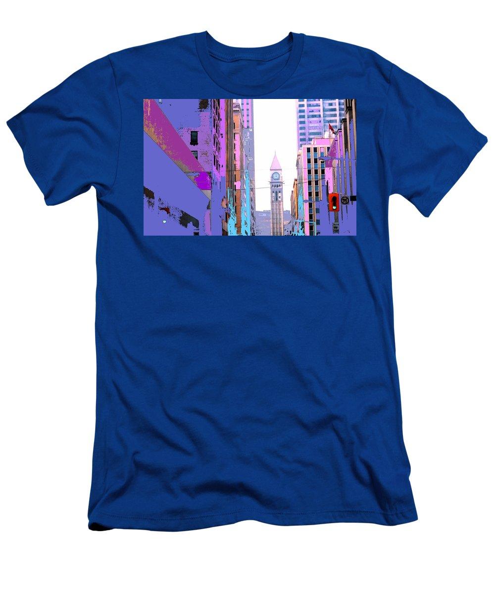 Bay T-Shirt featuring the photograph Toronto Old City Hall by Ian MacDonald