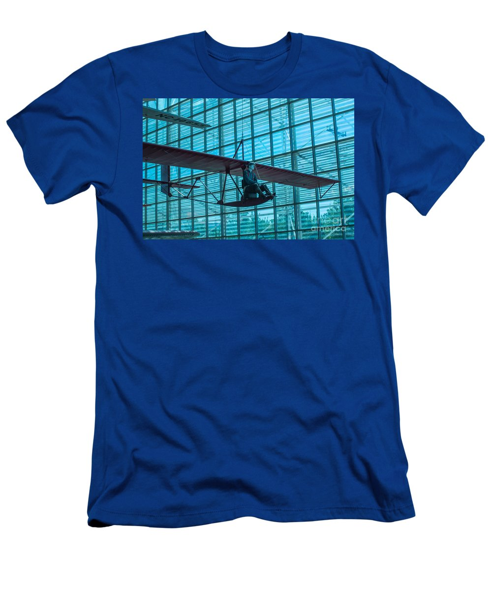 Aircraft Men's T-Shirt (Athletic Fit) featuring the photograph Windrider by Rich Priest
