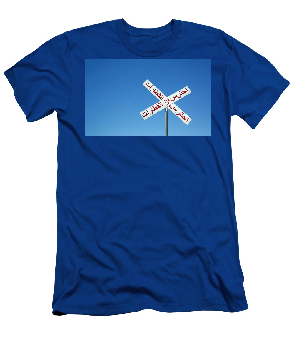 Egypt Men's T-Shirt (Athletic Fit) featuring the photograph X Marks The Spot by A Rey