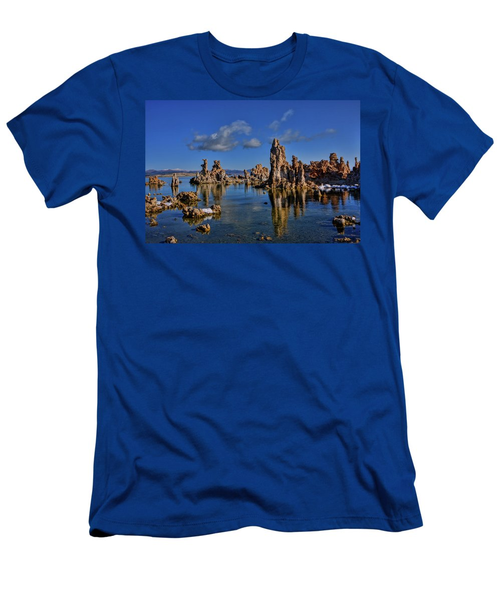 Mono Lake Men's T-Shirt (Athletic Fit) featuring the photograph Mono Lake by Beth Sargent