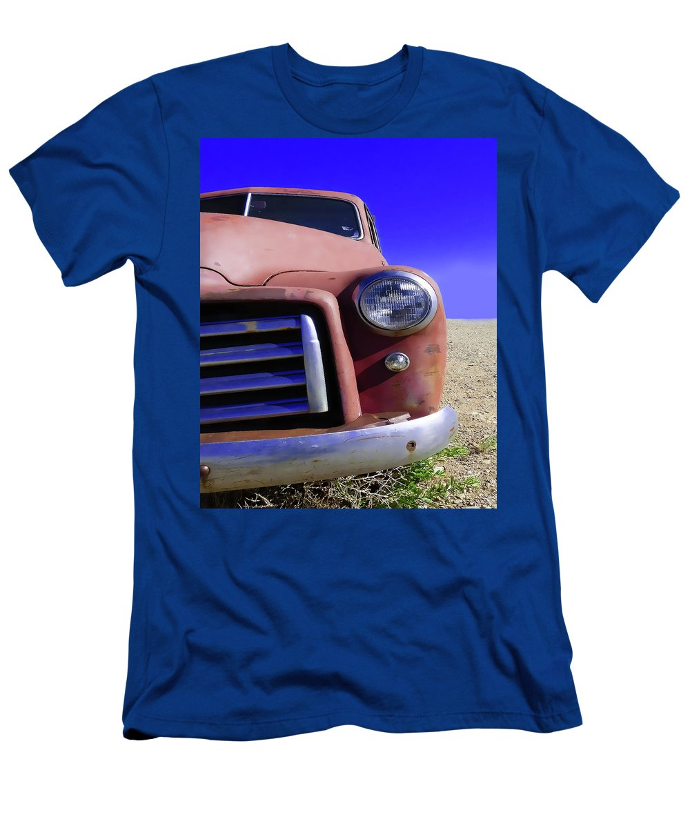 Truck Men's T-Shirt (Athletic Fit) featuring the photograph Northwest Of Taos by Terry Fiala