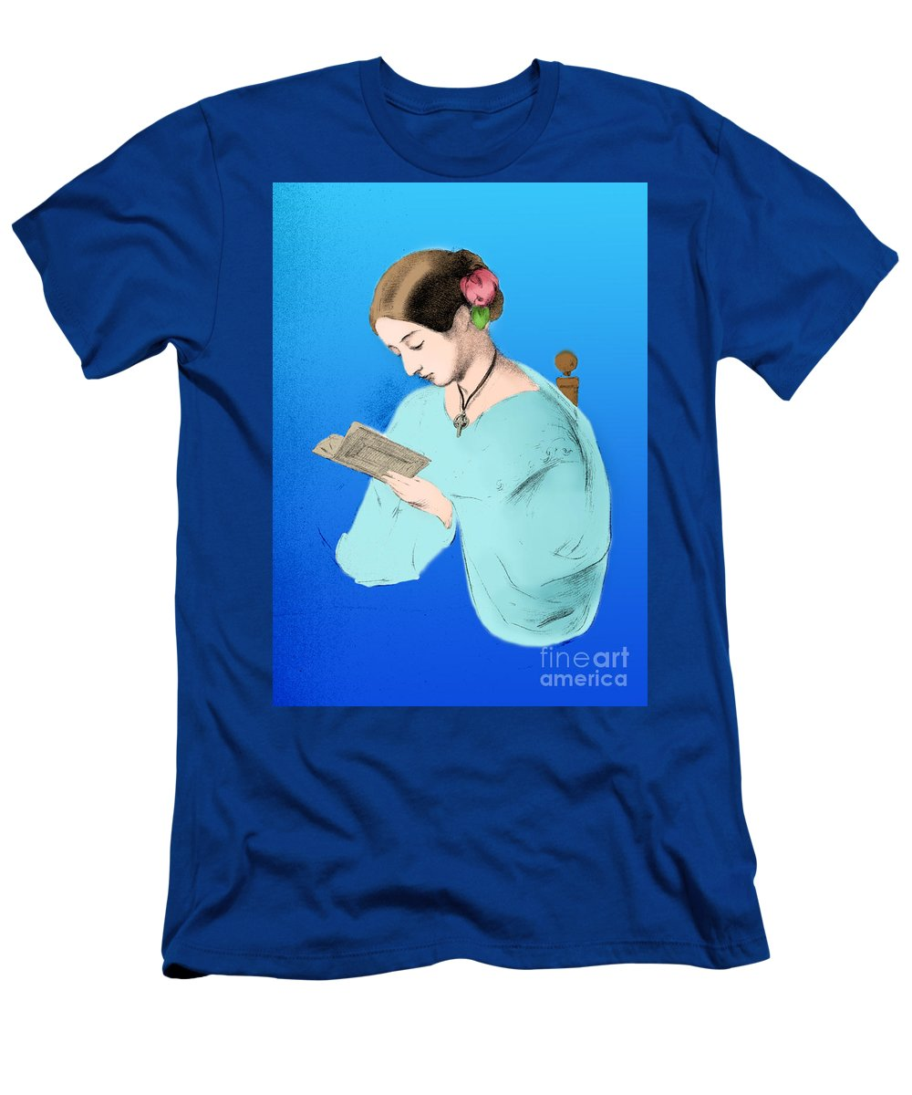 0eea1445a2c8e History Men's T-Shirt (Athletic Fit) featuring the photograph Florence  Nightingale, English