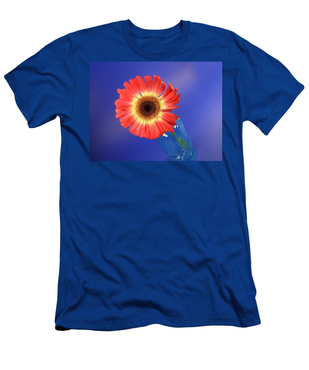 Gerbera Photographs Men's T-Shirt (Athletic Fit) featuring the photograph 2375c by Kimberlie Gerner
