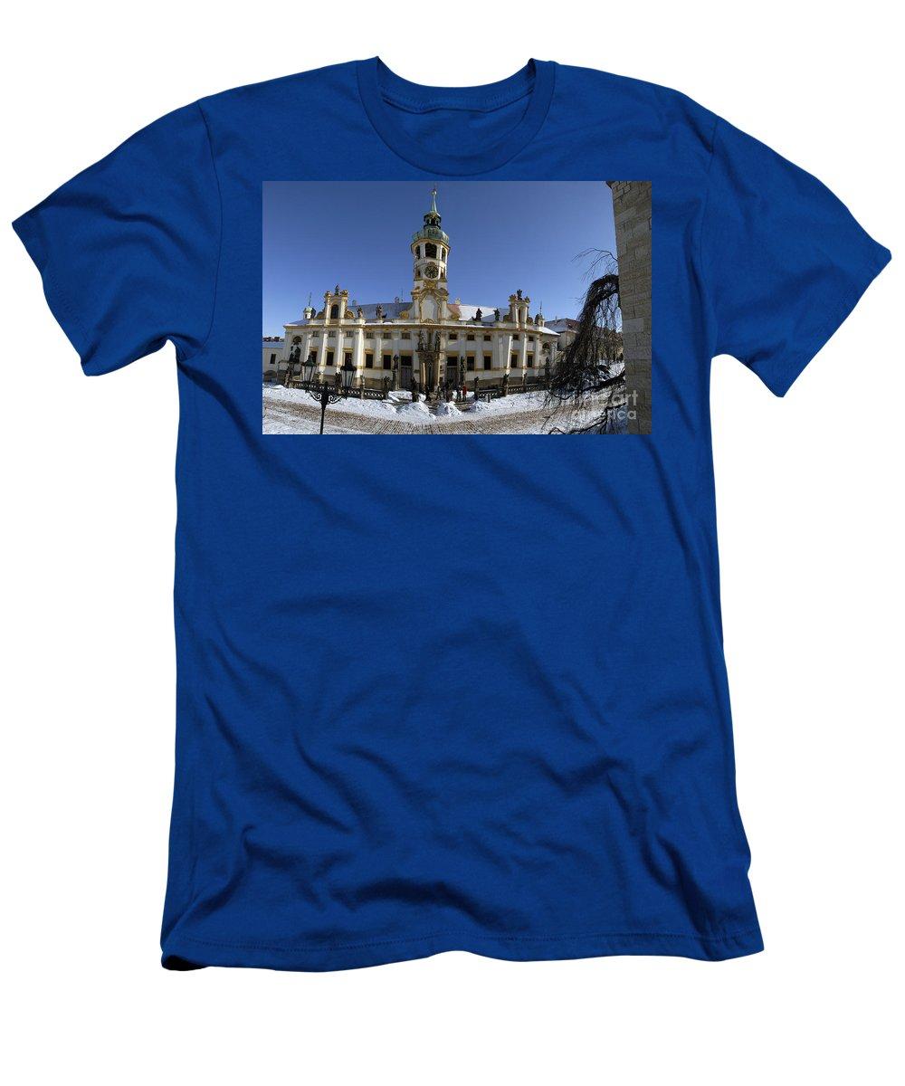 Loreto Men's T-Shirt (Athletic Fit) featuring the photograph Prague Czech Republic by Eyal Fischer